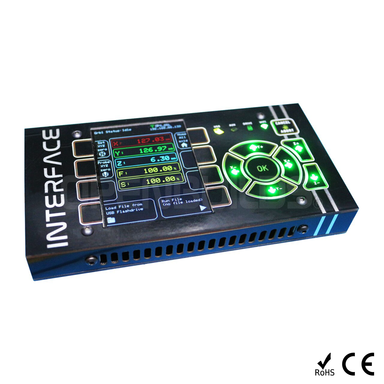 INTERFACE CNC Touch for BlackBox