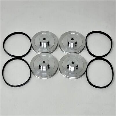 Voron 2.4 80Teeth Pulley & Closed Loop Belt Set