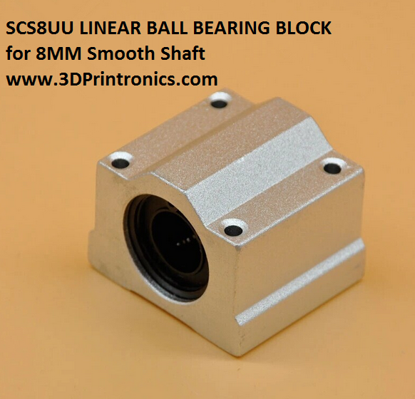 SCS8UU - Linear Ball Bearing Block for CNC/3D Printers