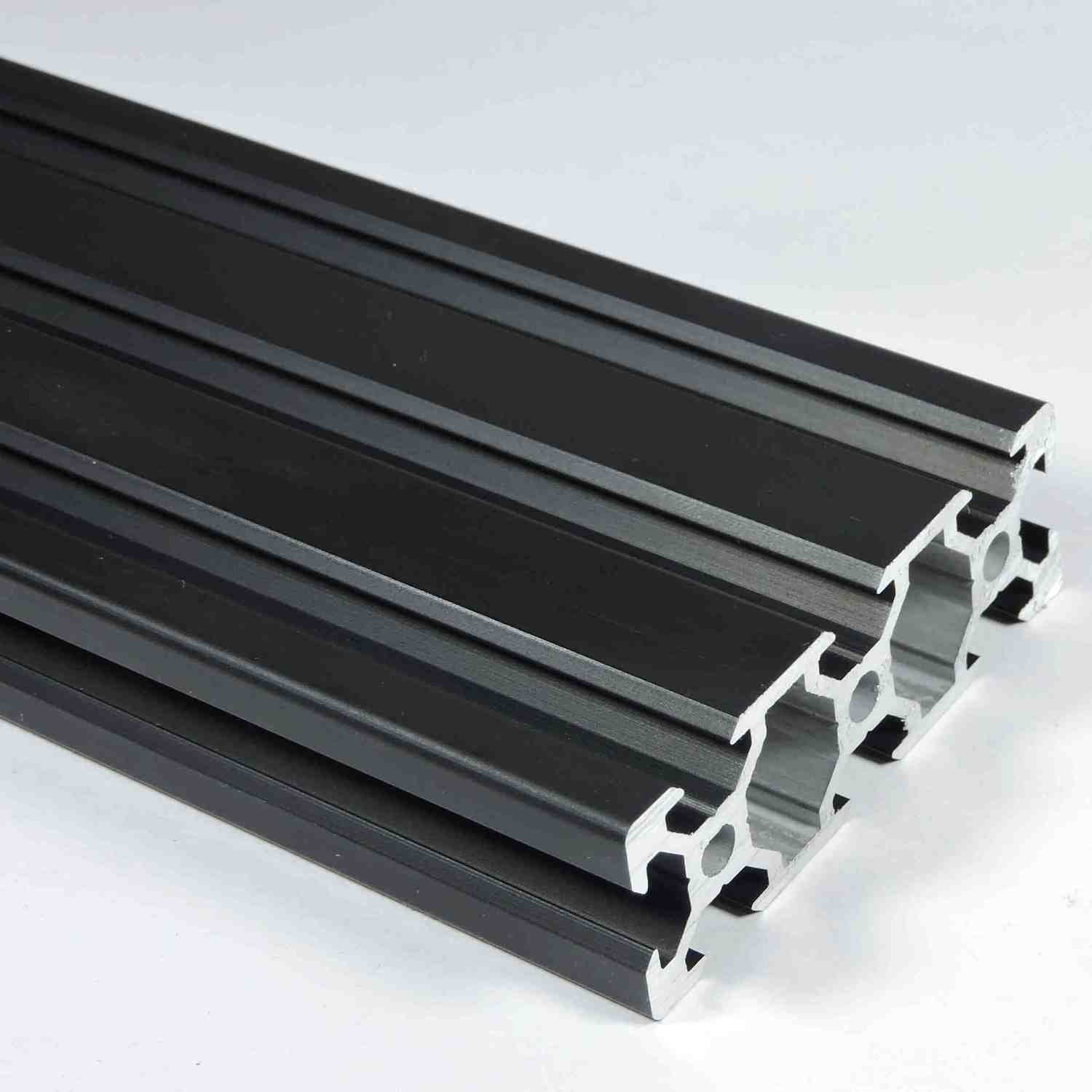 V Slot Aluminium Extrusion 2060(Black)