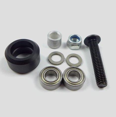 Delrin MINI Solid V Wheel Kit for V Slot