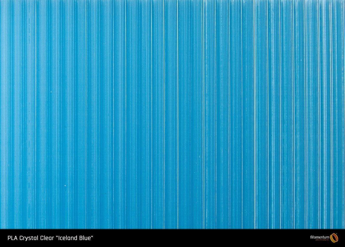 """Fillamentum PLA Crystal Clear """"Iceland Blue"""" 1.75"""