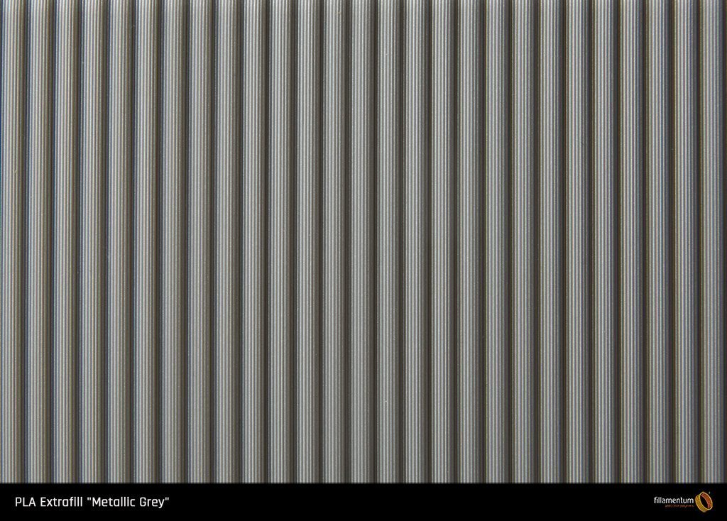 "Fillamentum PLA Extrafill ""Grey Metallic"" 1.75"
