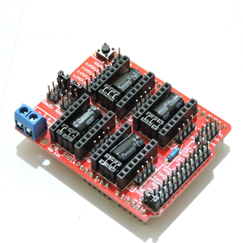 Arduino CNC Shield V3.51 - 0.9 GRBL Compatible
