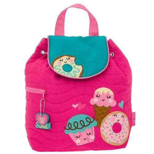 Girlish Quilted Backpack