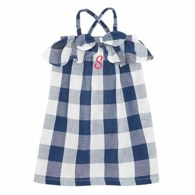 Gingham Girl Bow Dress