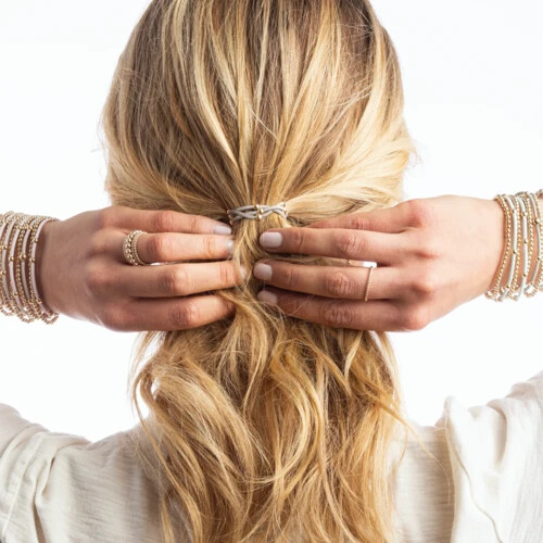 Essential Hair Bracelet Stack of Two