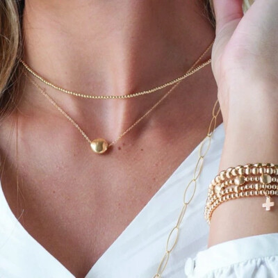 Classis Gold 2mm Choker Necklace