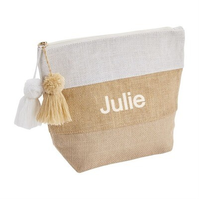 Jute Natural Pouch