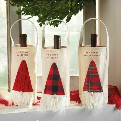 Gnome Wine Bag