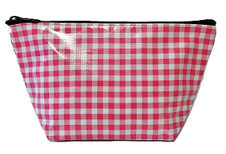 Oilcloth Jumbo Cosmetic Case