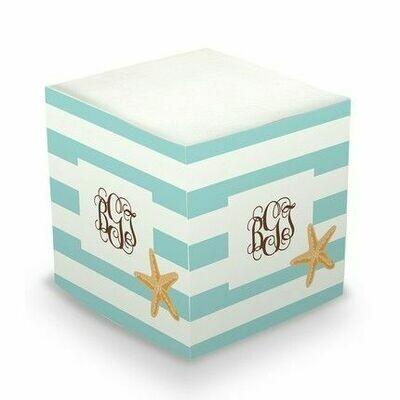 Starfish Memo Cube