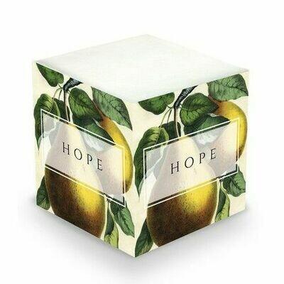 Pears Memo Cube