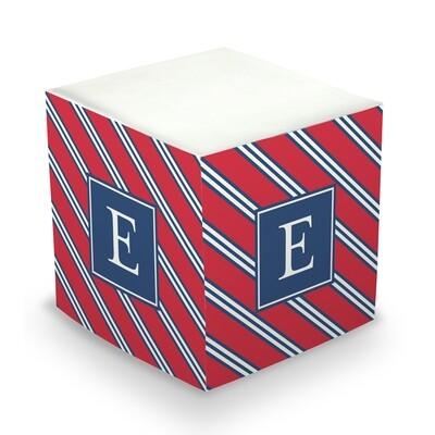 Repp Tie  Memo Cube