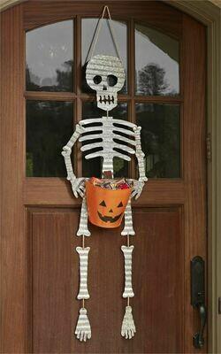 Skeleton Candy Bucket Hanger