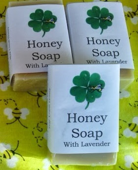 Honey Soap with Lavender