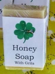 Honey Soap with Grits
