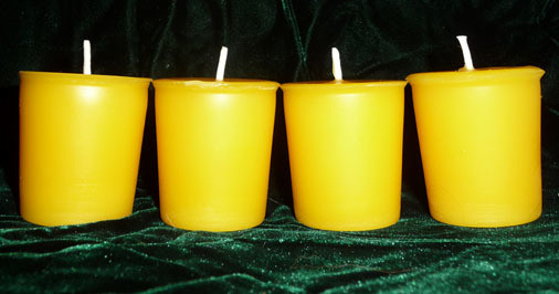 Beeswax Candle Votive