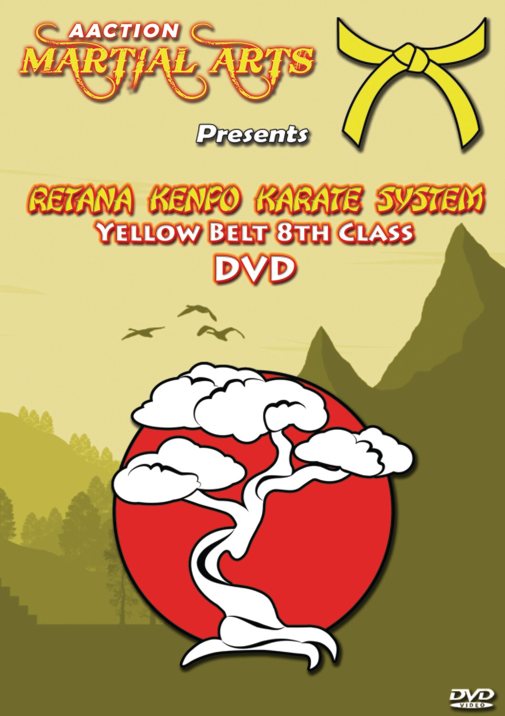 #1 Yellow Belt DVD - Retana Kenpo Karate System