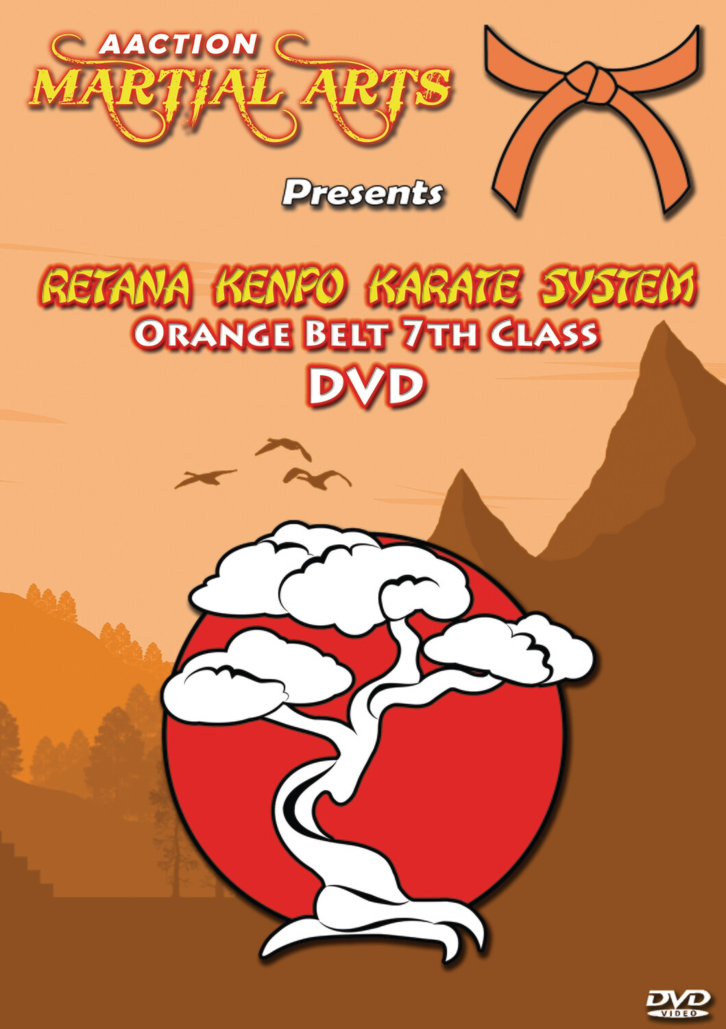 #2 Orange Belt DVD - Retana Kenpo Karate System