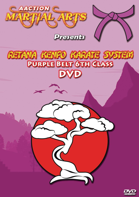 #3 Purple Belt DVD - Retana Kenpo Karate System