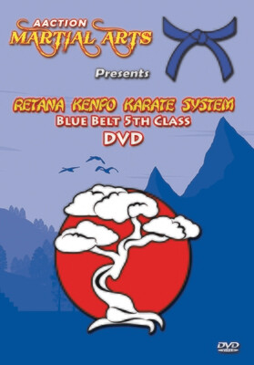 #4 Blue Belt DVD - Retana Kenpo Karate System