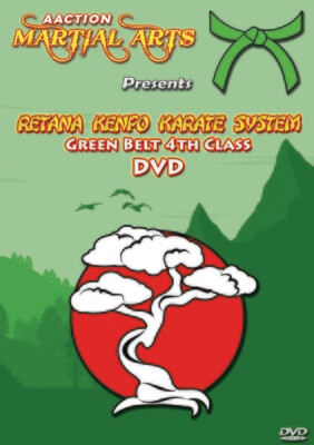 #5 Green Belt DVD - Retana Kenpo Karate System
