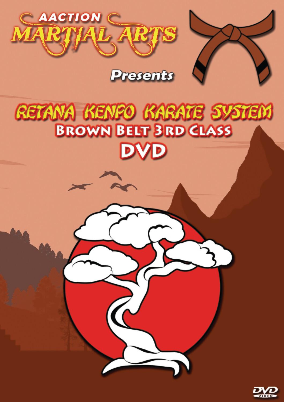 #6 3rd Class Brown Belt DVD - Retana Kenpo Karate System