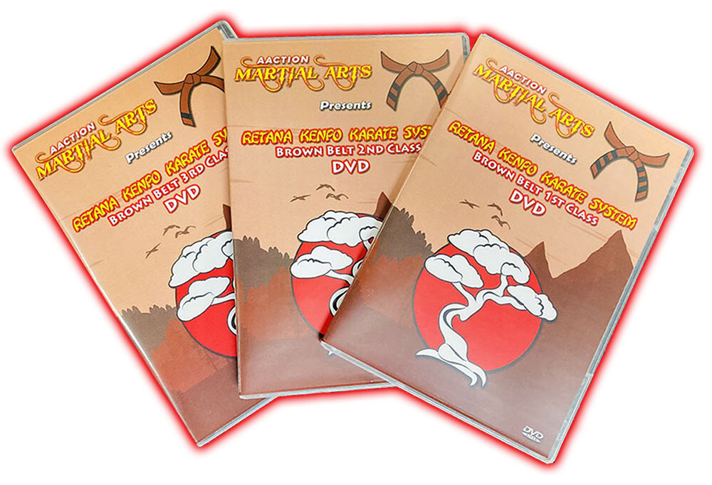 Brown Belt 3 DVD Bundle ($17 OFF!)