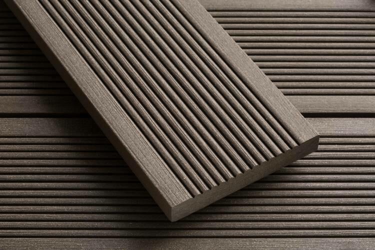 SmartBoard Composite Decking Chocolate Brown