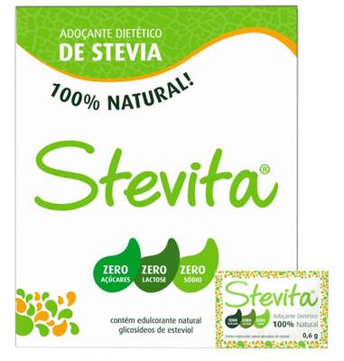 Stevita adoçante Stévia 50 unidades.