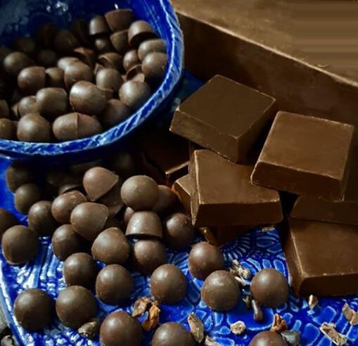 Gotas de Chocolate 70% Zero Açúcar/Zero Gluten/ Zero Lactose 100g