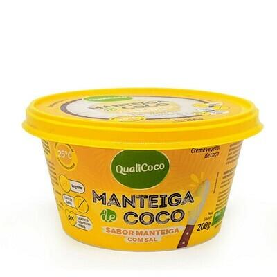 Manteiga de Coco com Sal