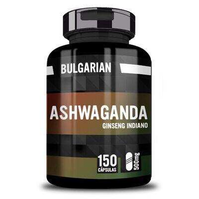 Ginseng Indiano (Ashwagandha) 500mg 150 Cápsula