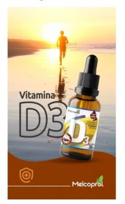 Vitamina D - 30ml - 2mil ui por gota