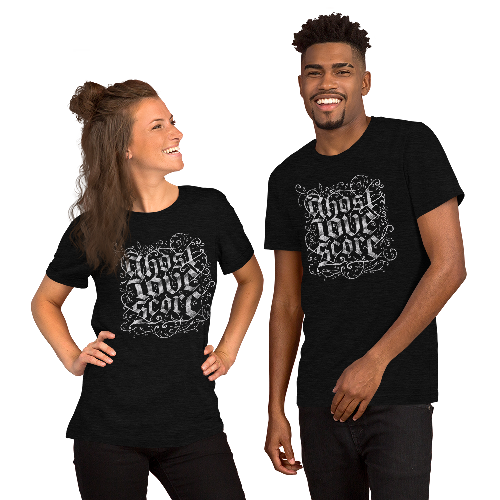 GHOST LOVE SCORE |  Short-Sleeve Unisex T-Shirt | Rafa Reactions