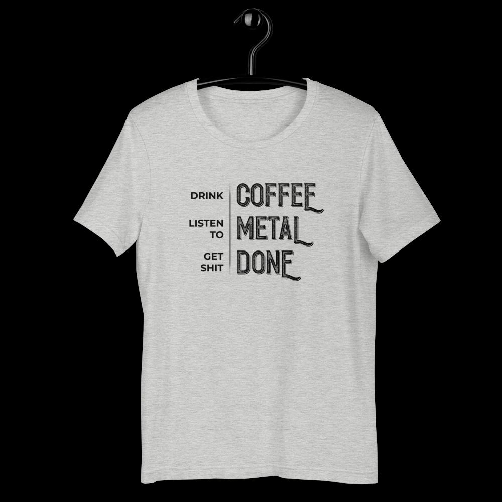 LISTEN TO METAL | Short-Sleeve Unisex T-Shirt | Rafa Reactions