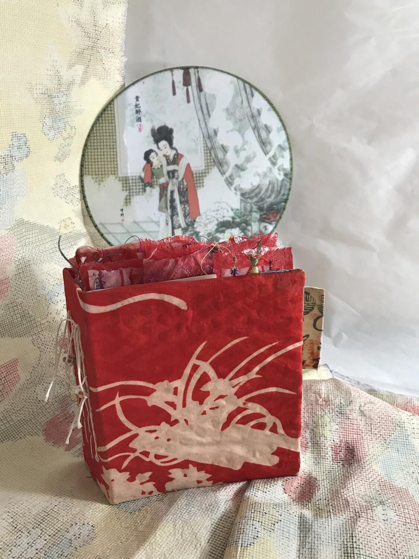 """Akai Hana"" Mini junk journal"