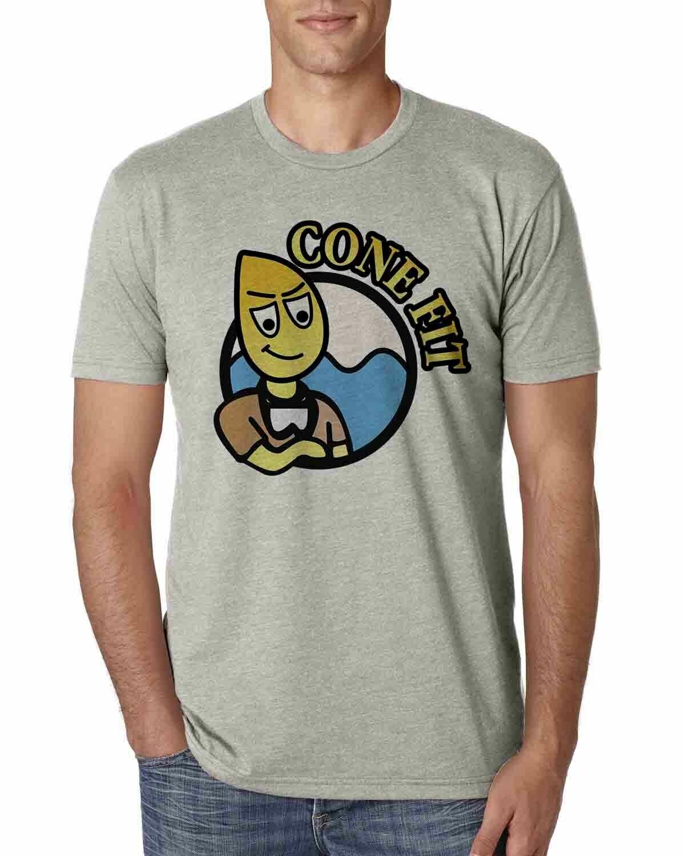 Men's T-Shirt Peace, Love, Rescue Angel