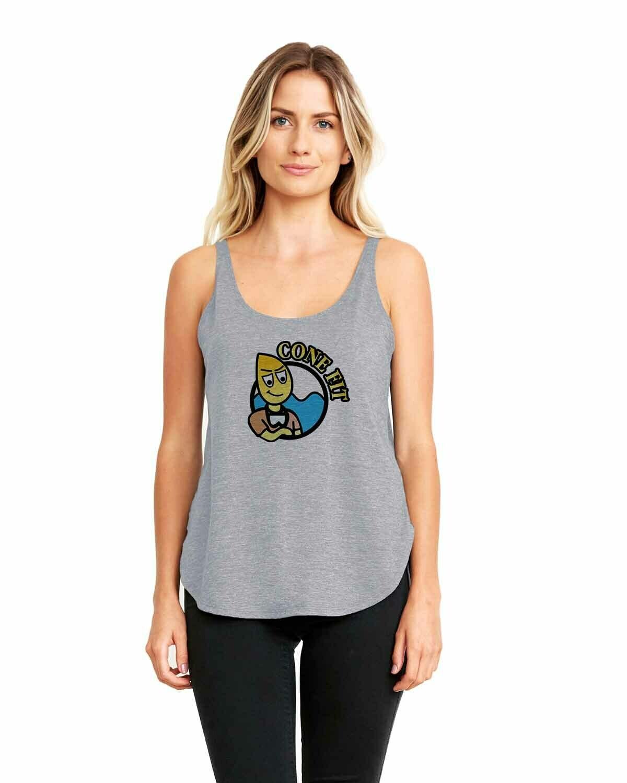 Women's Tank Peace, Love, Rescue, Helo