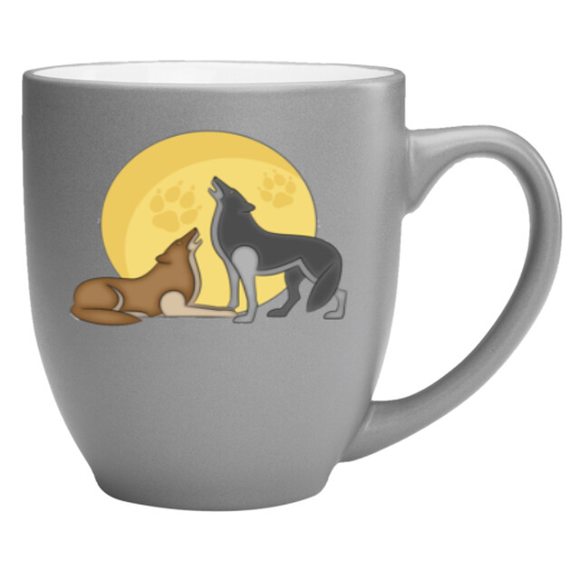 16 oz Bistro Two-Toned Coffee Mug