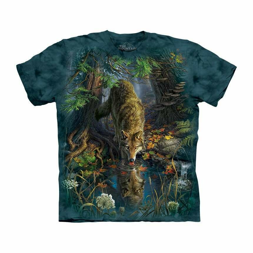 Clearance - T Shirt Enchanted Wolf