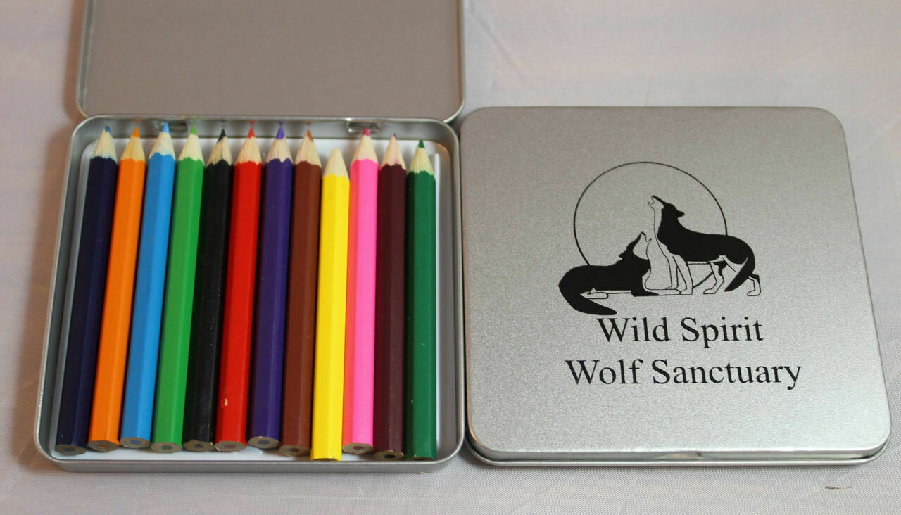 Colored Pencil Tin Box