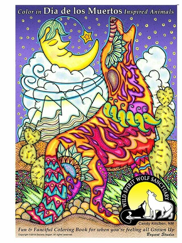 Dia De Los Muertos Coloring Book
