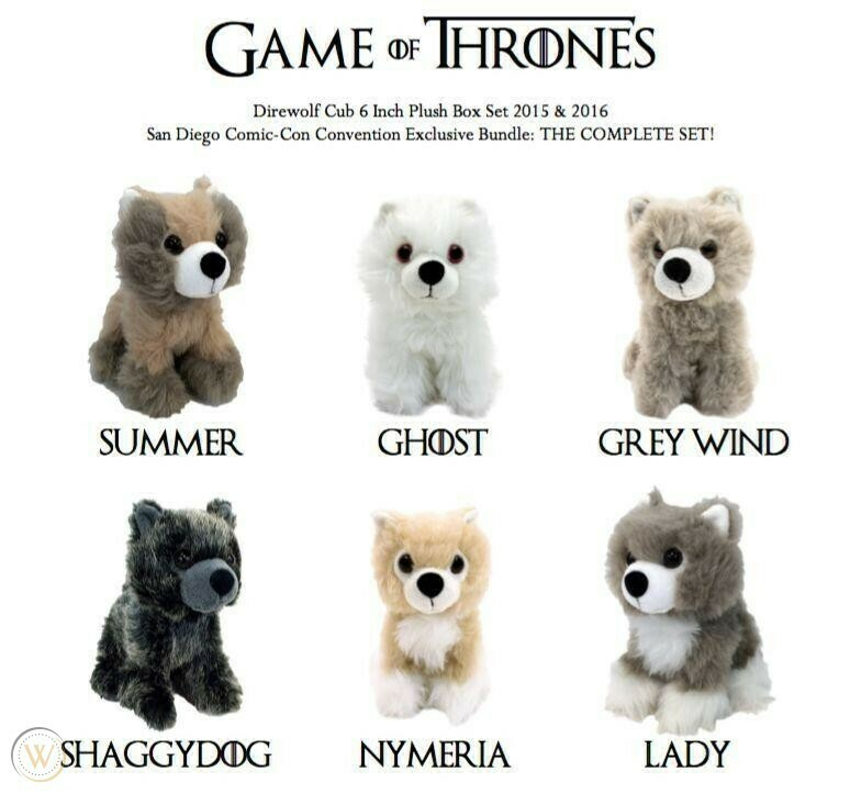Game of Thrones Direwolf Plush
