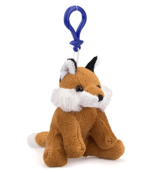 Clearance - Keychain Fox