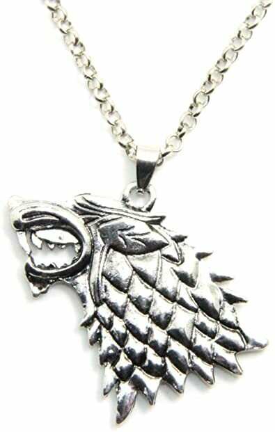 Necklace Stark Direwolf