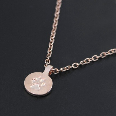Necklace Paw Print
