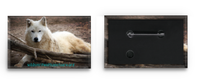 Rectangle Wolf Button