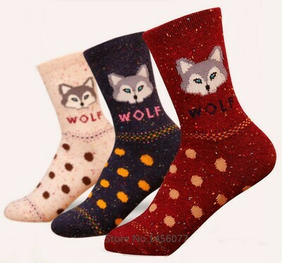 Socks - Wolf